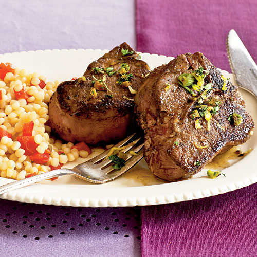 Lamb Chops with Pistachio Gremolata Recipes