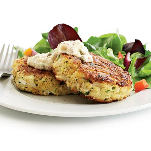 Lighter Crab Cakes