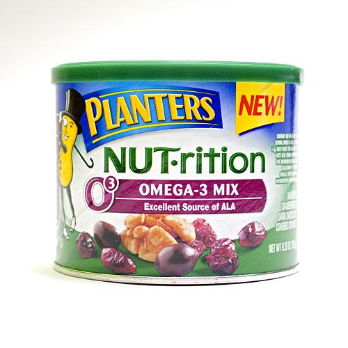New Snack: Planters NUT-rition Omega-3 Mix