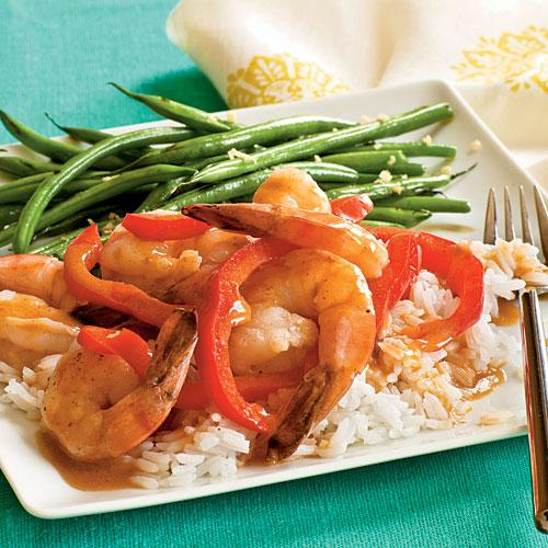 Healthy Dinner Recipe: Thai Red Curry Shrimp