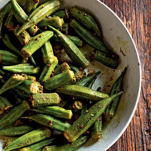 Healthy Indian Spiced Okra Recipes