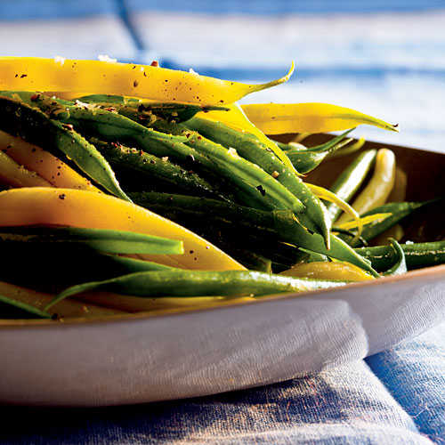 Easter Herbed Green and Wax Beans Recipe