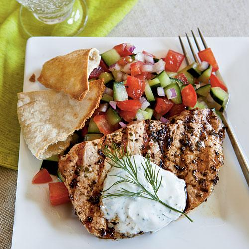 Top-Rated Budget Recipes: Greek-Style Pork Chops