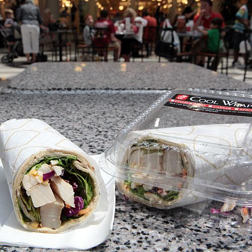 Fast Food Nutrition: Chick-Fil-A Chargrilled Chicken Cool Wrap