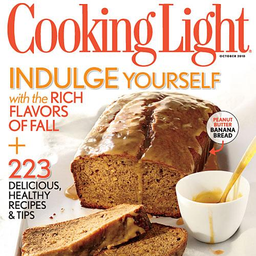 Cooking light october 2010 recipe index cooking light for October recipes