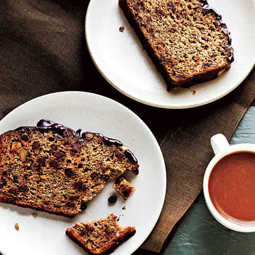 Banana Chocolate Walnut Bread Recipes