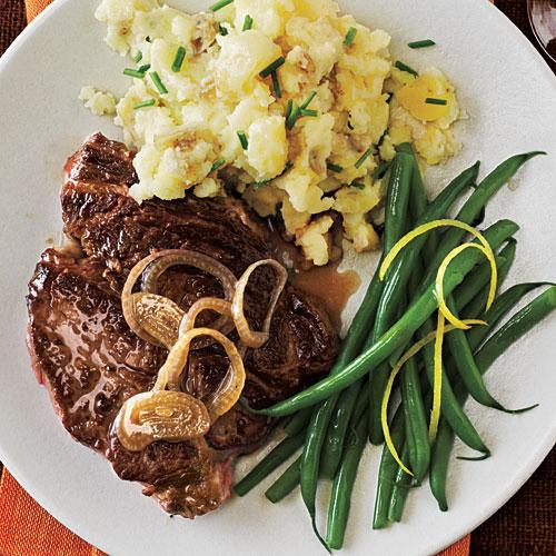 White wine marinated steak dinner tonight beef and lamb for Hamburger dinner ideas for tonight