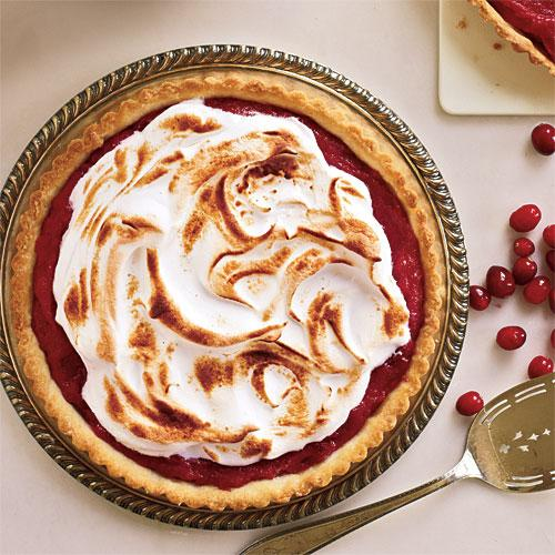 Meringue-Topped Cranberry Curd Tart Recipe