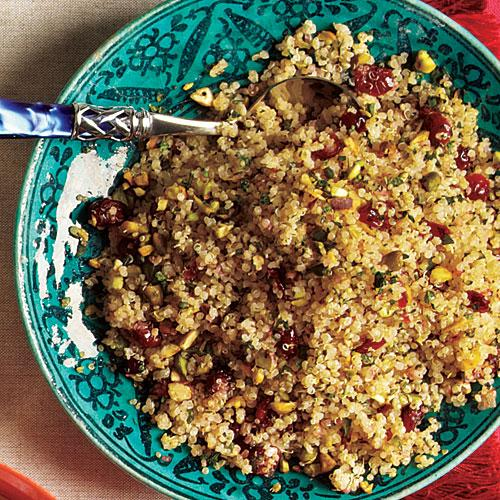 Quinoa with Dried Cherries and Pistachios Recipe