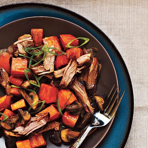 Pork and Sweet Potato Hash