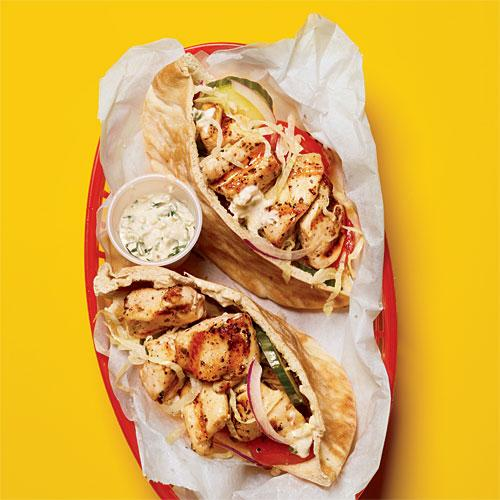 Chicken Souvlaki Takeout Recipe Makeover