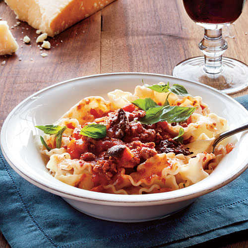 Make-Ahead Dinners: Slow-Simmered Meat Sauce