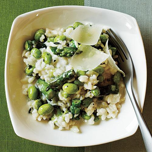 Spring Risotto Budget Cooking