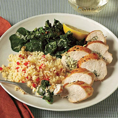 Herb and Goat Cheese-Stuffed Chicken Breasts Recipe