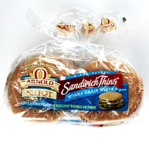 Arnold Select Sandwich Thins Whole Grain White