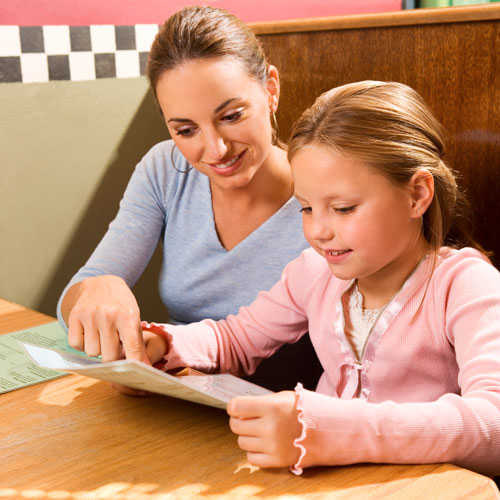 Kids' Menu Choices