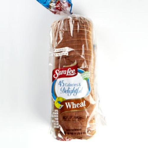 Sara Lee 45 Calories and Delightful Wheat Bread