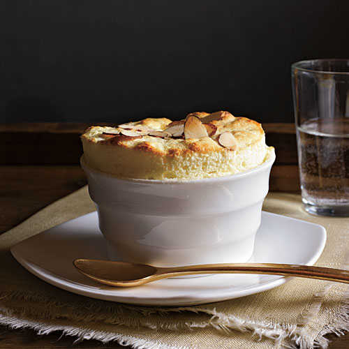 Lemon-Almond Soufflés Recipe