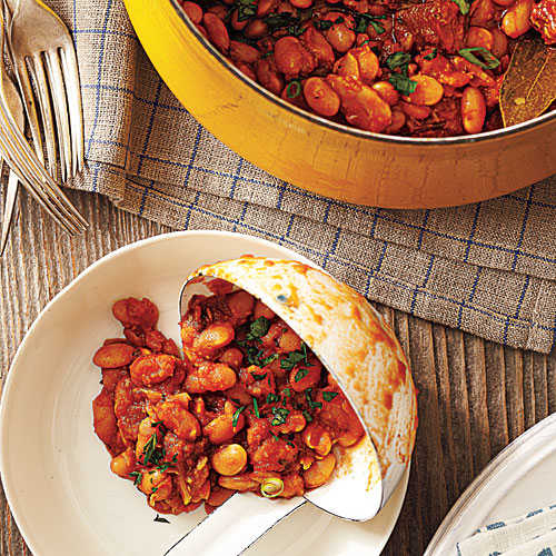 Smoky Baked Beans with Chorizo Recipe