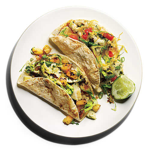 Chimichurri Halibut Tacos Recipe