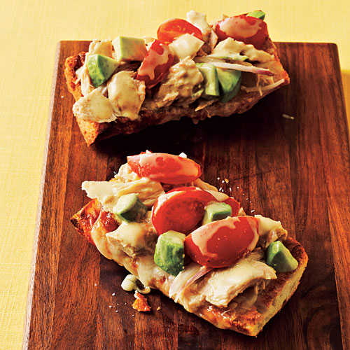 Quick and Healthy Tuna Melts with Avocado Recipe