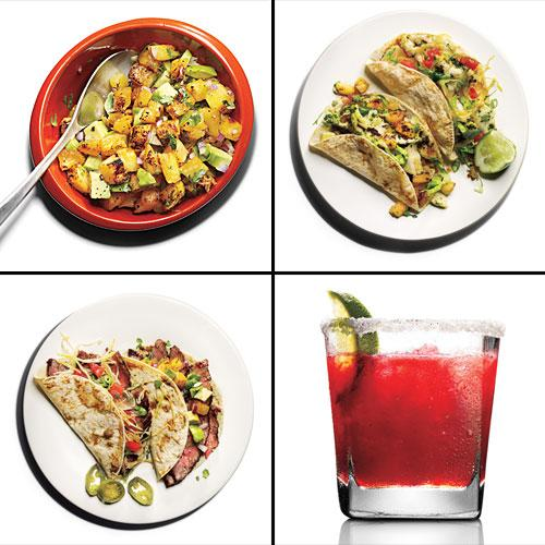 Mix and Match Taco Menu