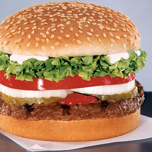 Burger King Whopper Jr. - Best Fast Food Burgers and ...