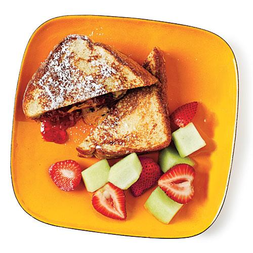 French Toast Peanut Butter and Jelly Budget Cooking Recipe