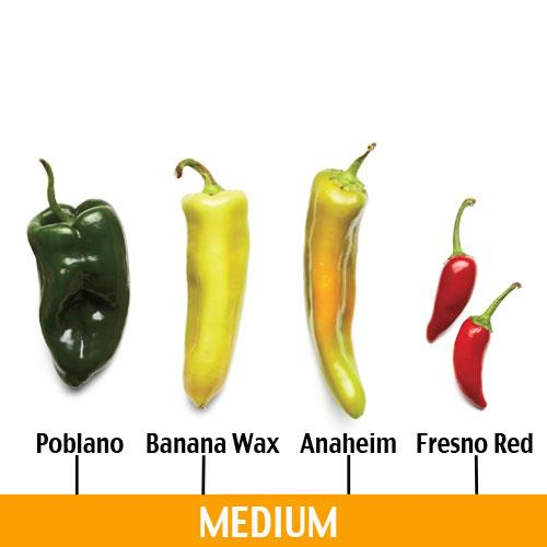 Medium Chile Peppers