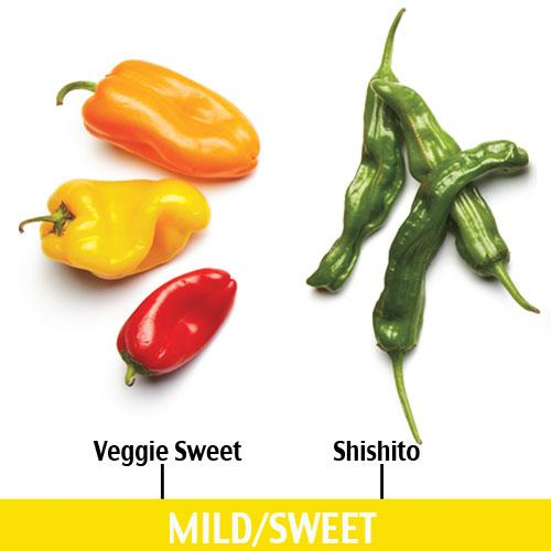 Mild/Sweet Chile Peppers
