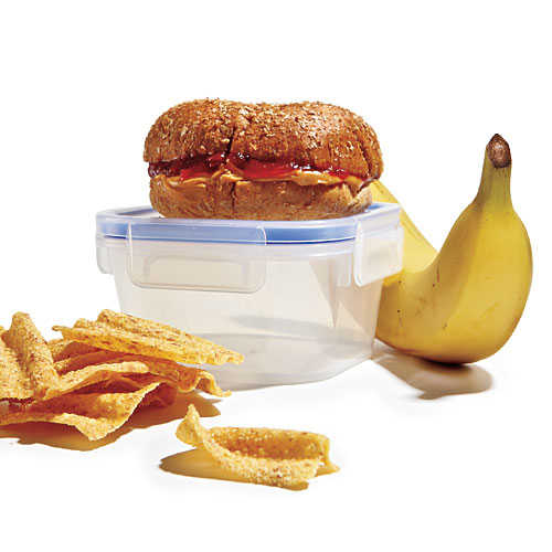 Whole-Wheat PB&J Lunch Box