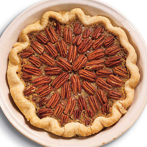 Maple-Bourbon Pecan Pie