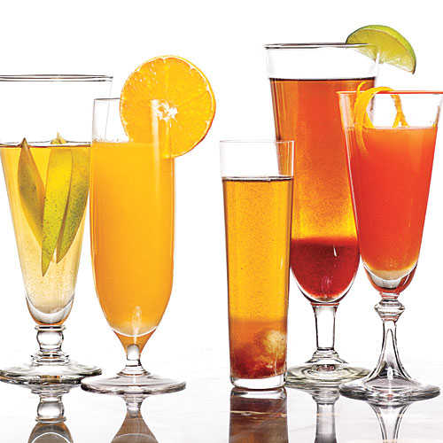 Elegant thanksgiving cocktails cooking light for Thanksgiving drinks alcoholic recipes