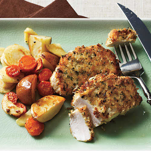 Crispy Pork Medallions Recipe