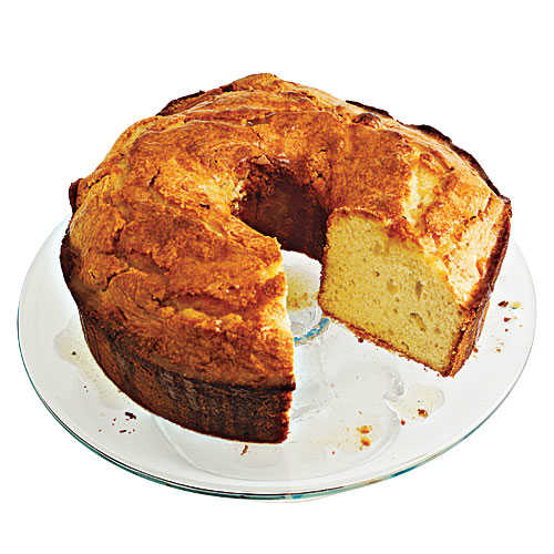 Less-than-a-Pound Pound Cake