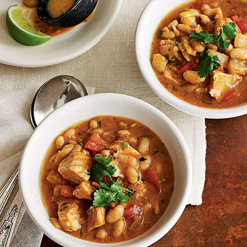 White Bean And Turkey Chili 25 Best Soups Cooking Light