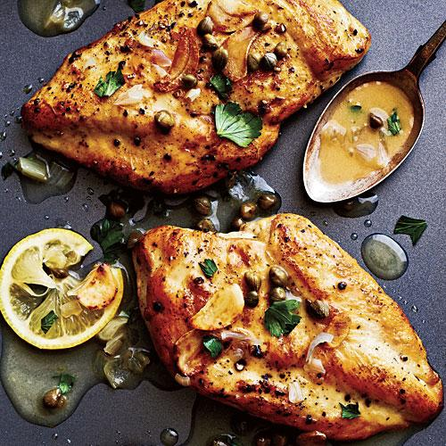The Best Chicken Piccata
