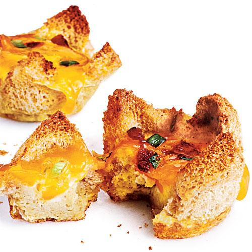 Mini Bacon and Egg Tarts Budget Cooking Recipe