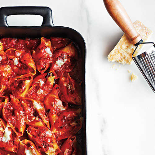 Shrimp-Stuffed Shells Recipe