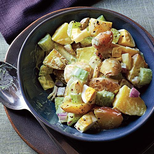 Ways with Yogurt: Creamy Potato Salad Superfast Recipe
