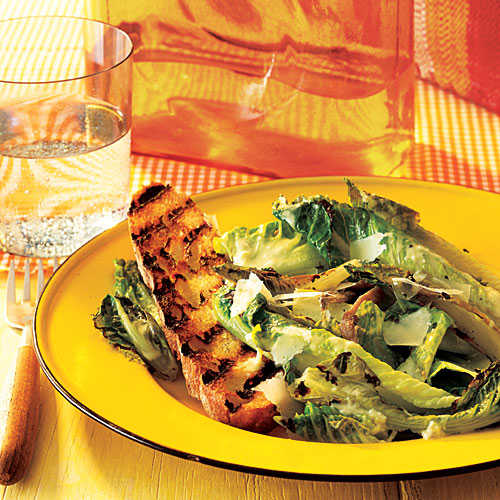 Grilled Caesar Salad Recipe