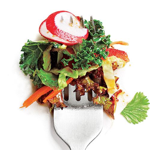 Spicy Soy Kale Salad