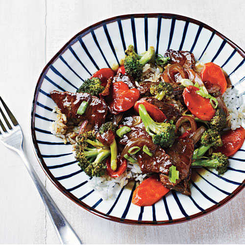 Beef and Broccoli Bowl
