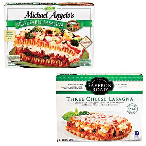 Frozen Vegetable Lasagna