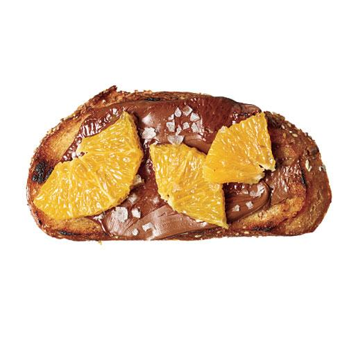 Curiously Citrus Chocolate Toast