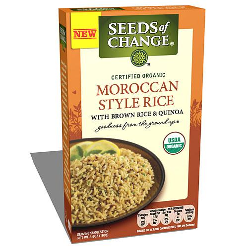 Seeds of Change Moroccan Style Rice with Brown Rice & Quinoa