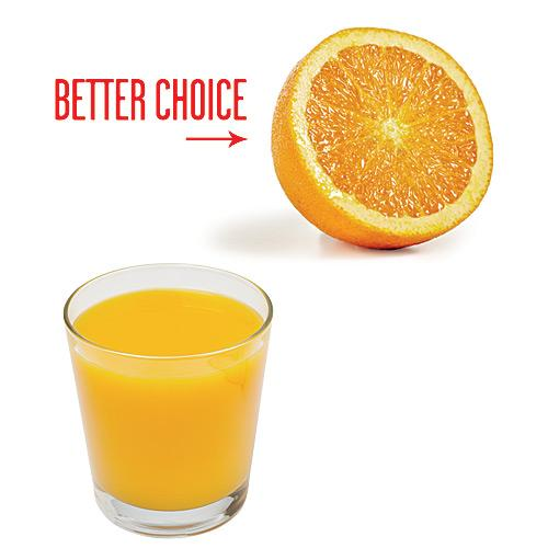 Instead of OJ, Reach for an Orange