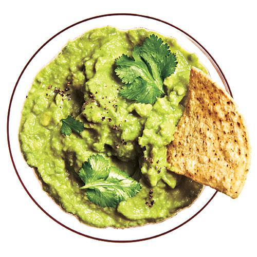 Simple Guacamole - Low-Calorie Dips and Spreads - Cooking ...