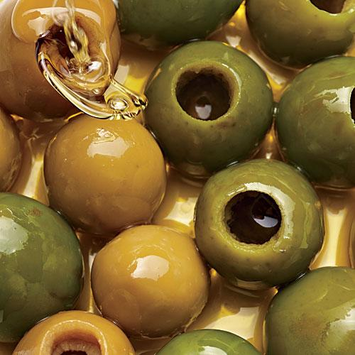 Use a Cherry Pitter on Olives