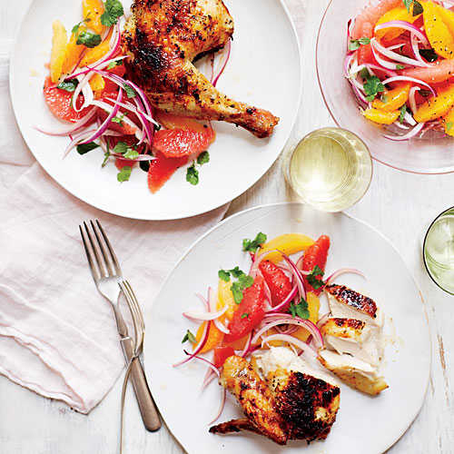 Four Citrus-Herb Chicken